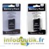Kit Batterie rechargeable 1800, 3600mAh pour PSP 1004, 2400mAh pour PSP 2004 ou 3004