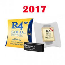 Carte multimédia R4 SDHC Gold pour Nintendo DS, DS Lite 3DS, 2DS DSi XL
