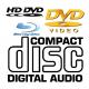 CD/DVD/Blu-Ray